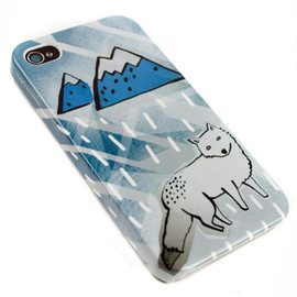 Mödernaked - Snow Wolf iphone Case