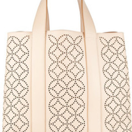 ALAIA - Perforated leather tote