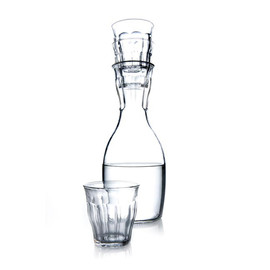 Royal VKB & Duralex - Glass Carafe & PICARDIE Glass