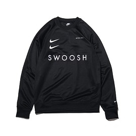 NIKE - AS M NSW SWOOSH CREW PK / BLACK