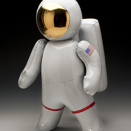 BRETT KERN - Ceramic Inflatable Astronaut