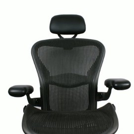 Herman Miller - Headrest for Herman Miller Aeron Chair - PU Leather