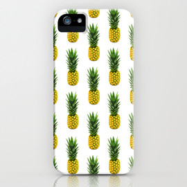 Society6 - Pineapple Pattern