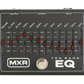 MXR - M108 10 Band Graphic EQ