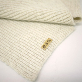 OLD JOE & Co. - 11A/W KNIT MUFFLER (ECRU)