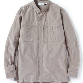 nonnative - ADVENTURER SHIRT C/P TAFFETA