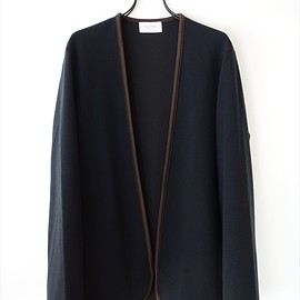 FLISTFIA - Piping Cardigan/ ネイビー