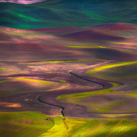 U.S. - Palouse Hills in Washington