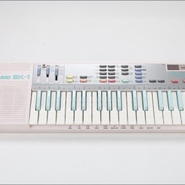 Casio - SK-1 sampling keyboard