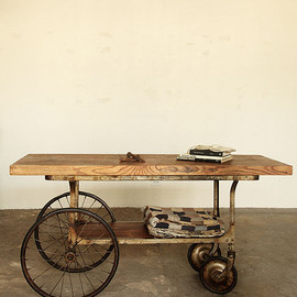 19th century MEDICAL CART