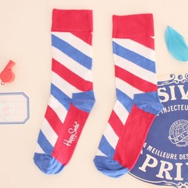 Sophie et Chocolat - Happy Socks/Tricolore-Stripe