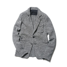SOPHNET. - 2 BUTTON KNIT JACKET