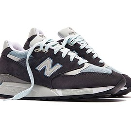 New Balance, KITH - M998 - Steel Blue