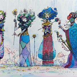 _ moon - The Spring Muses