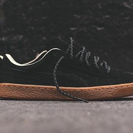 PUMA - Basket Classic Winterized - Black/Gum