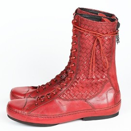 SIVA - INTERCCIATO LACE-UP BOOTS
