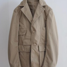 Waste(twice) - hunting gabadine jacket