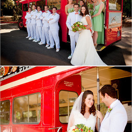 The Wedding Chicks - double decker bus