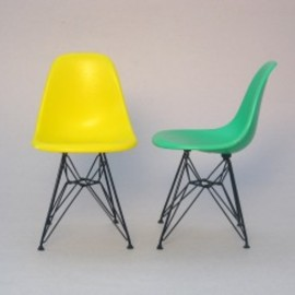 Vitra Design Museum - Eames Shell Side Chair DSR_Miniature