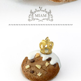 MIAM PARIS - broche cookie