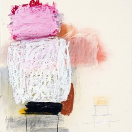 Rocío Rodriguez - May 23, 2012, 2012, oil pastel and pencil on paper