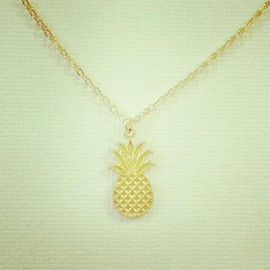 PEACE SHORE - pineapple necklace