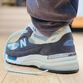 New Balance, KITH - M992 - Steel Blue