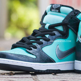 NIKE SB, Diamond Supply Co. - Dunk High Pro SB - Tiffany