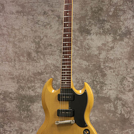 Gibson - Gibson Custom Shop SG Special VOS TV Yellow