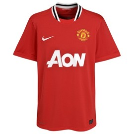 NIKE - Manchester United Home Shirt 2011/12