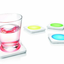 Philips - Philips 69154/11/48 Lumiware Color Changing Coasters
