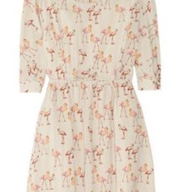PAUL & JOE SISTER - Saudade flamingo-print voile dress
