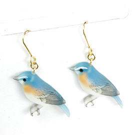 Budgie ピンズ ピアス ネックレス