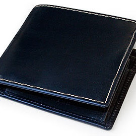 Whitehouse Cox - NOTECASE WITH COINCASE (NAVY)