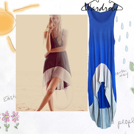 Free People - Royal BLue Dress