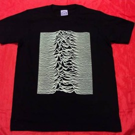 Joy Division「Unknown Pleasures」ジャケ半袖Tシャツ
