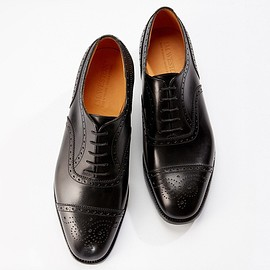 J.M.WESTON - 310 MEDALLION CAP TOE OXFORD