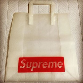 Supreme - old shop bag