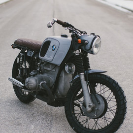 Analog Motorcycles - R75/5 DS  // 1972 BMW R75/5