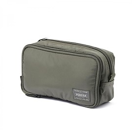 "HEAD PORTER - ""OLIVE DRAB"" GROOMING POUCH"