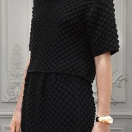 Textured Black Outfit
