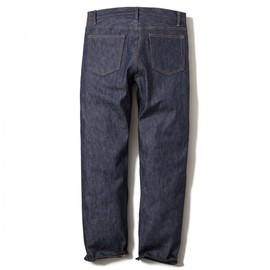 HEAD PORTER PLUS - SIMPLICITY DENIM PANTS / REGULAR INDIGO