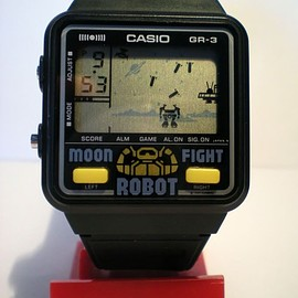 CASIO - GR3 moon robot fight