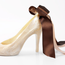 Chocolatines - Chocouture Fall Heel - White Chocolate