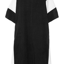 DKNY - Color-block terry kaftan