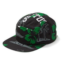 STUSSY - College Floral Camp Cap
