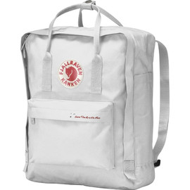 "FJALLRAVEN - ""Save the Arctic Fox KANKEN"" - Ruck/Hand Bag (White)"