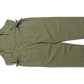 ENGINEERED GARMENTS - Overalls-Cotton Ripstop-Olive