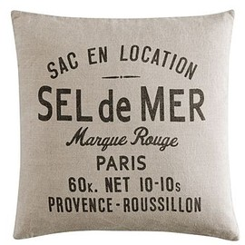 H&M Home - Cushion cover (Sel de Mer)