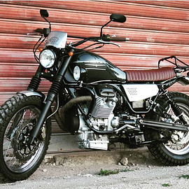 Norred Moto Collection - Moto Guzzi Nevada ie 750 Light Scrambler